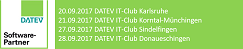 Auftritt als Softwarepartner bei DATEV IT-Club